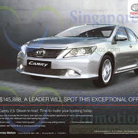 Read more about Toyota Camry Offer 7 Mar 2015