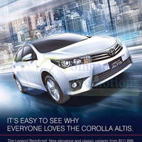 Read more about Toyota Corolla Altis Offer 21 Mar 2015