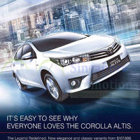 Read more about Toyota Corolla Altis Offer 7 Mar 2015