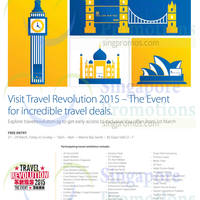 Travel Revolution 2015 @ Marina Bay Sands 27 - 29 Mar 2015