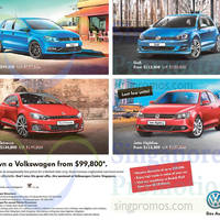 Volkswagen Polo, Golf, New Scirocco & Jetta Highline Offers 6 - 8 Mar 2015