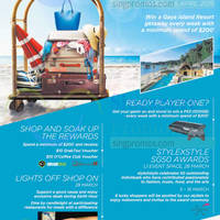 Read more about Wisma Atria Shop To A Beach Holiday Promotions 5 Mar - 5 Apr 2015