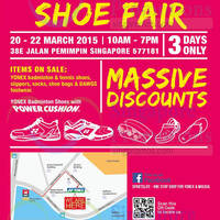 Read more about Yonex Shoe Fair 20 - 22 Mar 2015