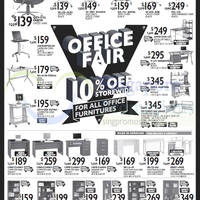 Read more about vHive 10% Off Office Furniture Promo 7 - 13 Mar 2015