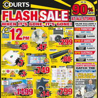 Read more about Courts Up To 90% Off 1-Day Offers 24 Apr 2015