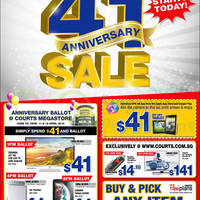 Read more about Courts 41st Anniversary Sale Offers 11 - 13 Apr 2015