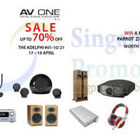 Read more about AV One Audio Electronics Massive Sale @ The Adelphi 17 - 19 Apr 2015