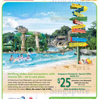 Read more about RWS $25 Adventure Cove Waterpark Admission Ticket Promo 30 Apr - 31 May 2015