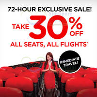 Read more about Air Asia 30% OFF All Seats 72hr Promo 29 Apr - 1 May 2015