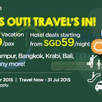 Read more about Air Asia Go School Vacations From $139 & Hotels From $59 Promo 13 - 26 Apr 2015