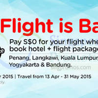 Read more about Air Asia Go Book a Hotel & Get $0 Flight 6 - 12 Apr 2015