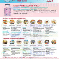 Read more about Bank of China One Dines Free, Up to 50% Off Dining Treats & More 15 Apr 2015