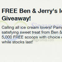 Read more about Ben & Jerry's FREE Ice Cream Voucher For Singtel Customers (Fully Redeemed!) 13 Apr 2015