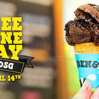 Read more about Ben & Jerry's FREE Cone Day (FREE Ice Cream Giveaway) @ Three Locations 14 Apr 2015