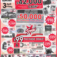 Read more about Best Denki Grand Opening Celebration Offers @ Ngee Ann City 3 - 6 Apr 2015