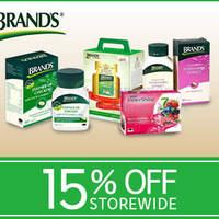 Read more about Brand's Health Drinks 15% OFF Coupon Code 18 Apr 2015