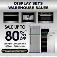 Read more about Brandt Display Sets Warehouse Sale 25 - 26 Apr 2015