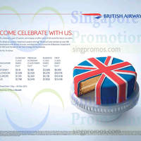 British Airways Promo Fares 26 Apr - 13 May 2015