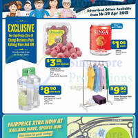 Read more about NTUC Fairprice Catalogue Super Saver, Groceries & More Offers 16 - 29 Apr 2015