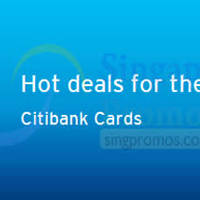 Citibank Dining Treats For Cardmembers 18 Apr 2015