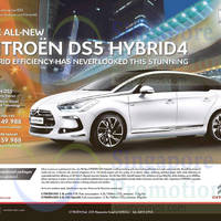 Read more about Citroen DS5 Hybrid4 Offer 18 Apr 2015