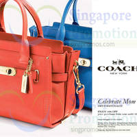 Read more about Coach 10% Off Promotion 29 Apr - 10 May 2015