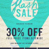 Read more about Cotton On Women's, Men's, Kids & Typo 30% OFF 24hr Sitewide Promo 4 Apr 2015