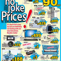 Courts Up To 90% Off 1-Day Offers 1 Apr 2015