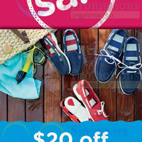 Read more about Crocs Spend $100 & Get $20 Off Sale 1 - 7 Apr 2015