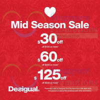 Read more about Desigual Mid Season Sale 13 - 30 Apr 2015