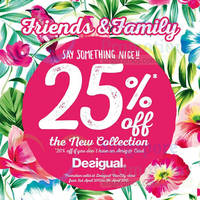 Read more about Desigual 20% Off New Collection Promo 3 - 5 Apr 2015