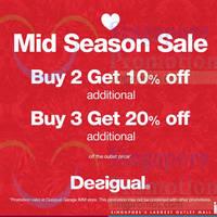Read more about Desigual Outlet Mid Season Sale @ IMM 13 Apr 2015