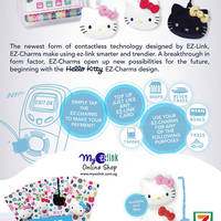 Read more about EZ-Link NEW Hello Kitty Ez-Charms (w/ ez-link Function) Available From 30 Apr 2015