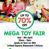 Read more about Early Learning Centre Mega Toy Fair @ United Square 2 - 5 Apr 2015