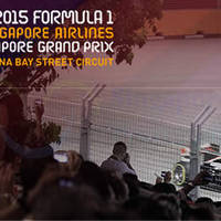 F1 2015 Formula 1 Singapore Airlines Grand Pix Single-Day Walkabout Tickets Sale Starts 1 May 2015
