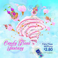 Read more about McDonald's NEW Fairy Floss McFlurry & Peach Twist Flavourburst @ Dessert Kiosks 17 Apr 2015