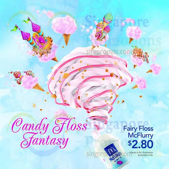 Fairy Floss McFlurry