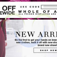 FashionValet 10% OFF Storewide Coupon Code (NO Min Spend) 1 - 30 Apr 2015