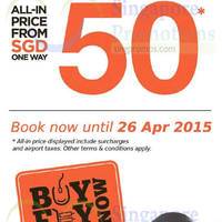 Read more about Firefly From $50 One Way (all-in) Promo Fares 14 - 26 Apr 2015