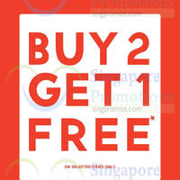 Read more about Forever 21 Buy 2 Get 1 Free Sale Items 3 - 5 Apr 2015