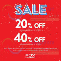 Read more about Fox Kids & Baby Mid Season Sale 3 - 19 Apr 2015