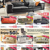 Harvey Norman Recliners, Sofa Sets & Mattresses Offers 25 Apr - 3 May 2015