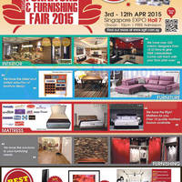 Read more about Furniture & Furnishing Fair @ Singapore Expo 3 - 12 Apr 2015