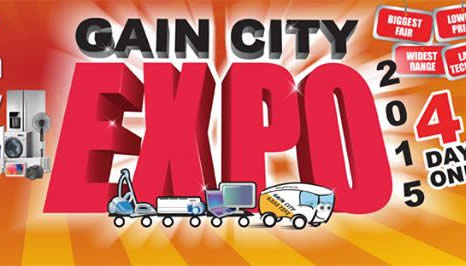 Gain City Expo 2015 Logo