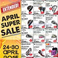 Read more about Golf Direct April Super Sale Offers 24 - 30 Apr 2015