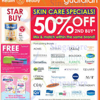 Read more about Guardian Skin Care Specials 50% Off 2nd Buy Promo 16 - 22 Apr 2015