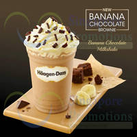 Haagen-Dazs New Banana Chocolate Milkshake 18 Apr 2015