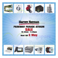 Read more about Harvey Norman Atrium Sale @ Parkway Parade 28 Apr - 3 May 2015