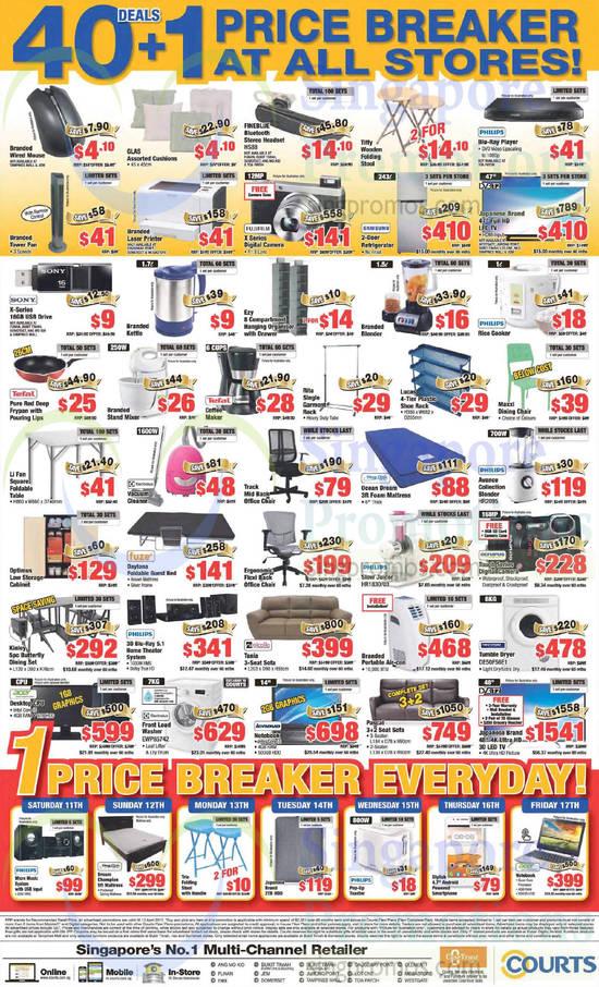 Home Appliances, Furniture, Mattresses, Blender, Foldable Guest Bed, Washer, Dryer, Slow Juicer ...