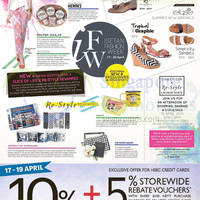 Read more about Isetan 5% Storewide Rebate Vouchers For HSBC Cardmembers 17 - 19 Apr 2015